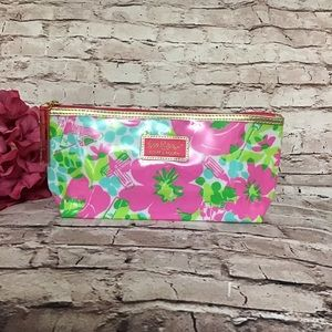 NWOT Lilly Pulitzer Estée Lauder Makeup Bag